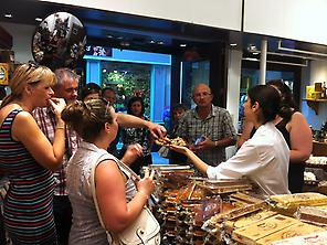 Tastings during the tour