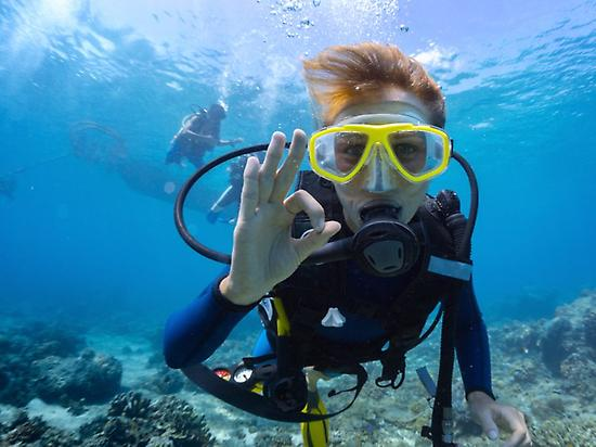 Discover scuba diving in Morro Jable