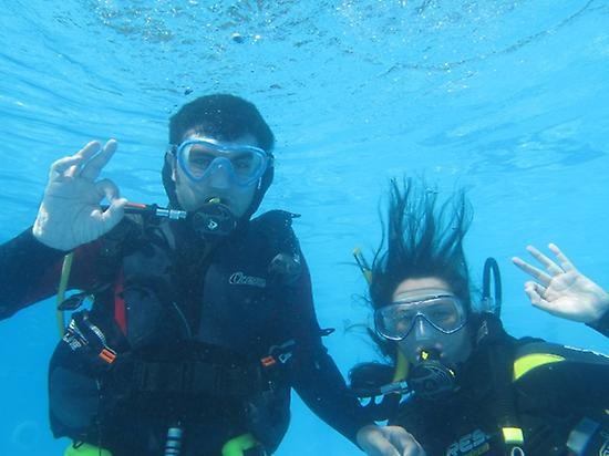Discover scuba diving in Alcocéber, Cast