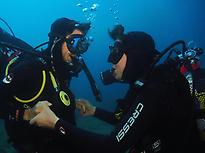 Discover scuba diving in Aguadulce