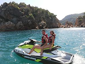 Jet Ski Tour in Playa de Aro