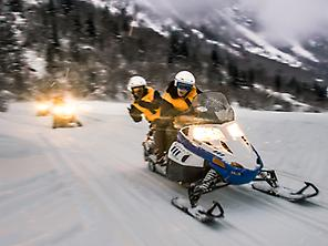 Snowmobile tour in Lleida