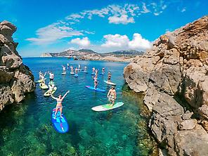 Paddle Surf Tour around Ibiza