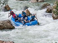 Single party Rafting