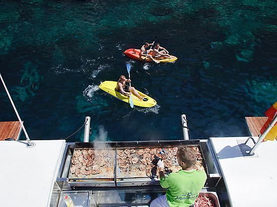Lunch catamaran Mallorca