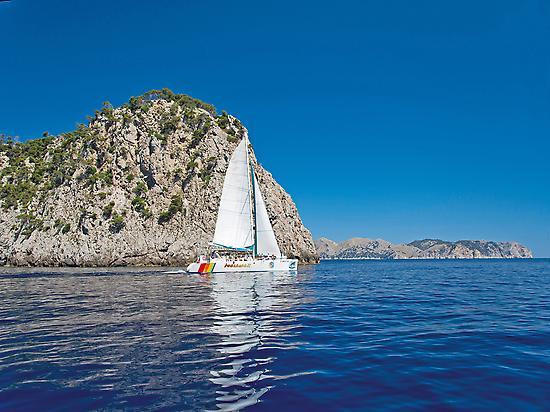 Catamaran tour Mallorca