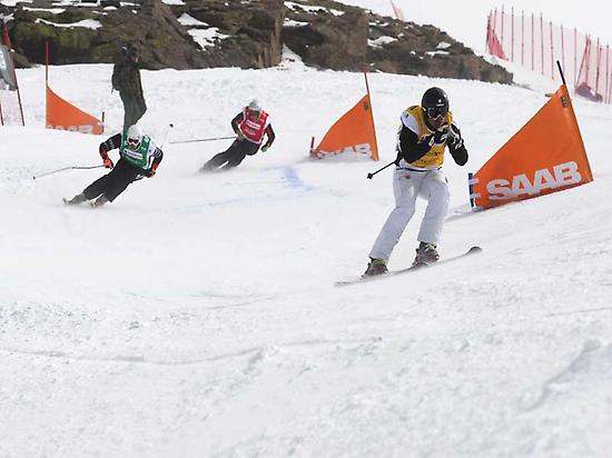 Final skicross Sierra Nevada 2017
