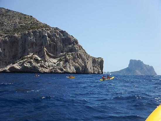 Sea Kayaking in Morro de Toix (Alicante)