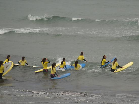 Surfing course in Ribadesella
