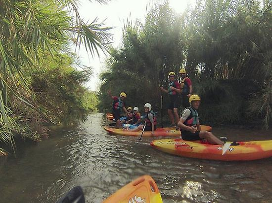 5 hours of kayak in Turia River