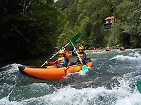 Kayak rafting in Picos de Europa