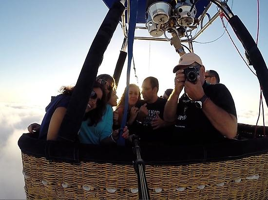 Murcia balloon ride experience