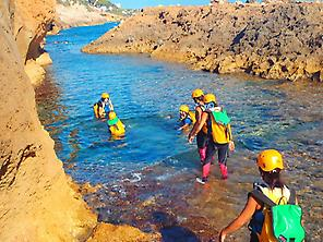 Coasteering in Denia