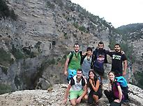 Hiking in Ardal mountain, Albacete
