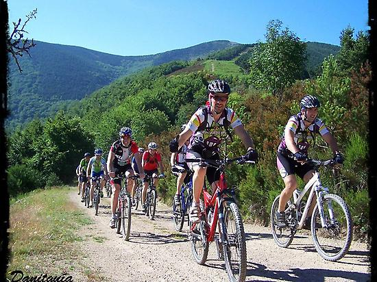 MTB trails in La Rioja