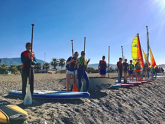 SUP initiation course in Motril