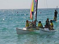 Catamaran mid-level course in Almería