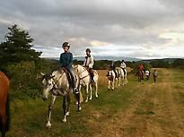 Initiation to horse riding, Burgos