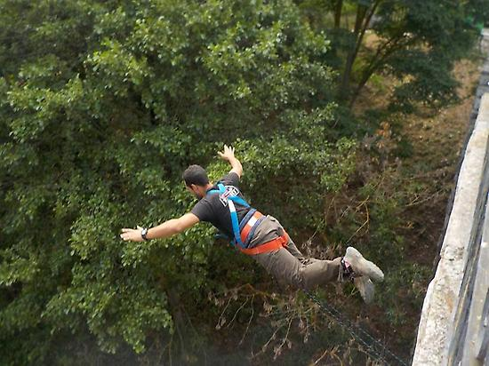 bungee jumping in Potes