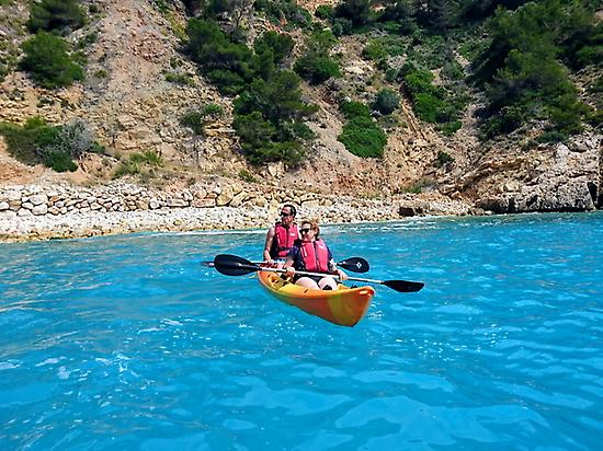 Cycling and kayaking in Jávea