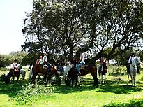 Horse ride in San Pedro del Valle