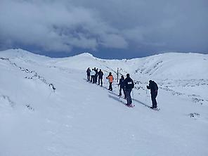 Snowshoeing in Alto Campoo, Cantabria