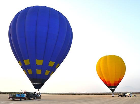 balloon ride over murcia