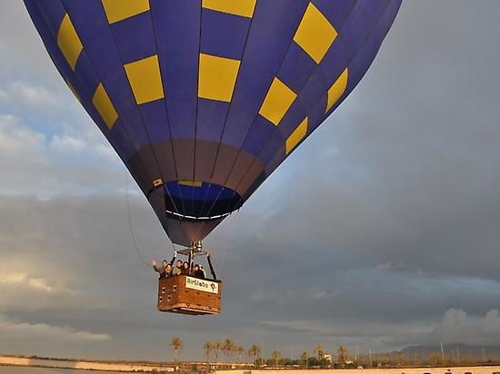 balloon ride experience in Murcia