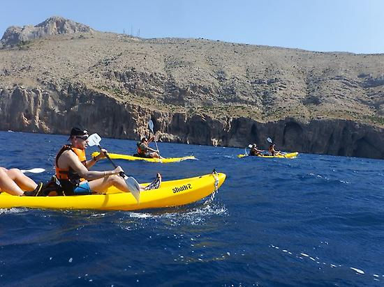 Sea Kayaking in Morro de Toix