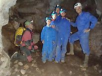 Caving and exploring León