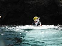 Coasteering and snorkeling