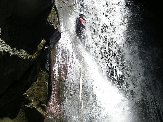 Canyoning trip in Aragonese Pyrenees