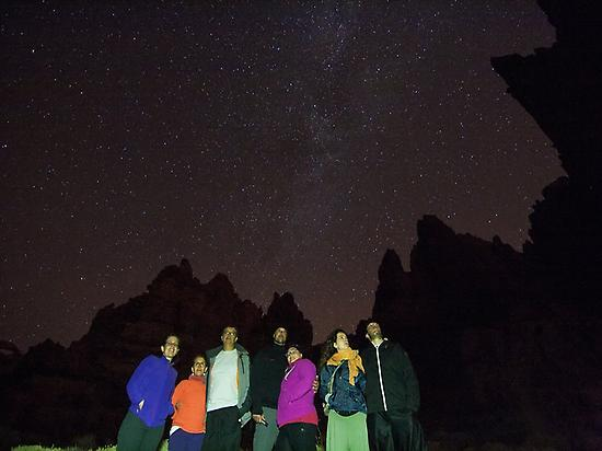 El Teide, among volcanoes and stars (Ten