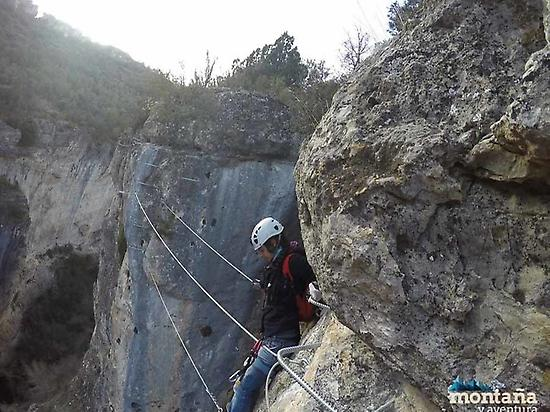 Via ferrata in Cuenca, Priego