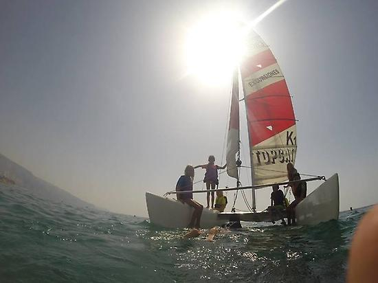 Mid-level course of catamaran in Almeria