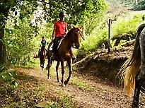 Horse riding in Ribadesella (Asturias)