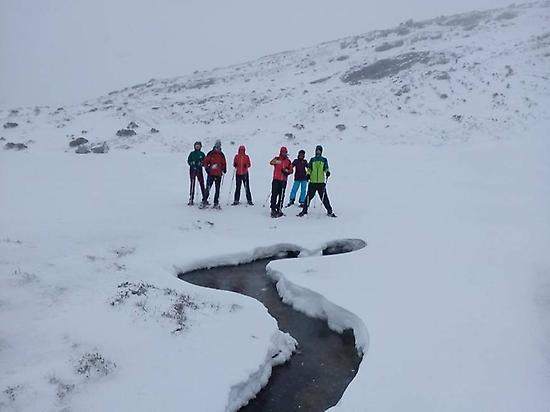 Snowshoeing in Cantabria