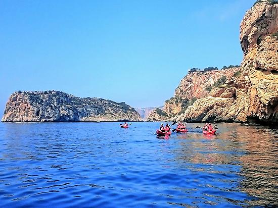 Kayak and cycling in Jávea