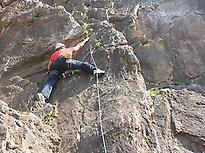 Climbing in Córdoba