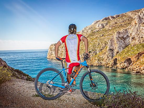 Kayaking and cycling in Jávea