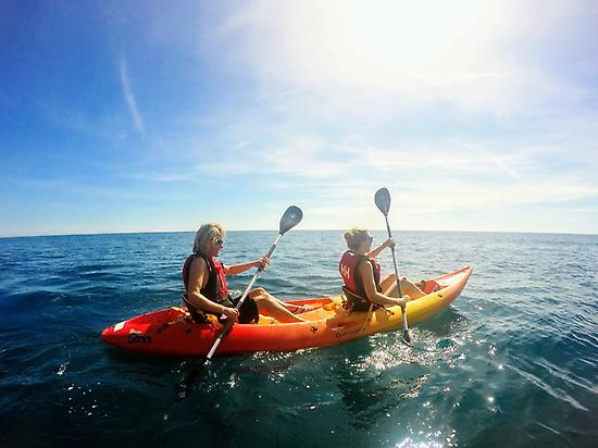 Cycling and kayak experience in Jávea