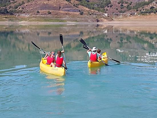 Kayaking in Málaga