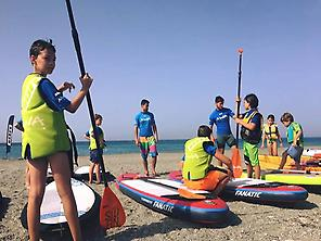 SUP course in Granada