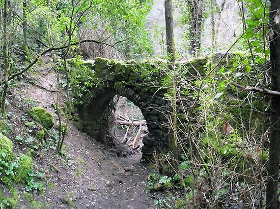 Hiking route in Sierra Morena