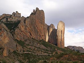 Via Ferrata in Mallos de Riglos, Huesca