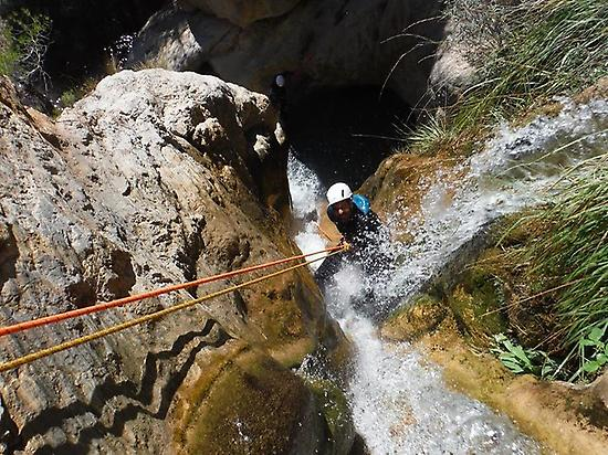 Canyoning in Aguas del Buitre