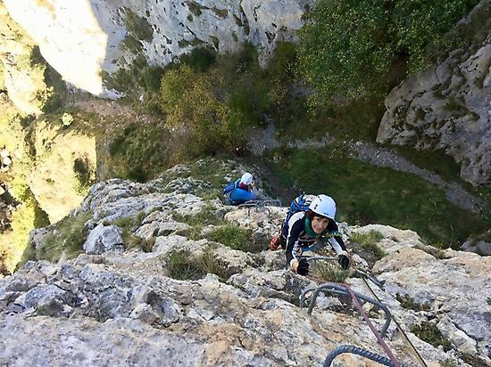 valdeon picos de europa via ferrata