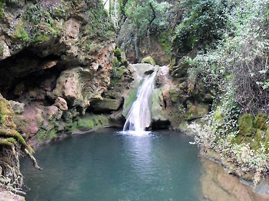 hiking route in Villafranca de Córdoba