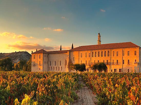 Abadía Retuerta winery.